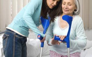 Основные признаки перелома шейки бедра у пожилых людей