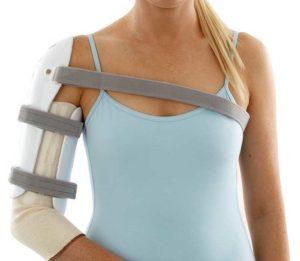 Признаки переломов плеча