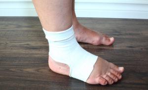 после перелома лодыжки отекает нога